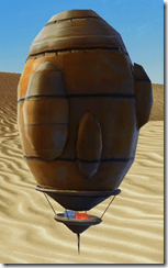 Model Tatooine Balloon - Front