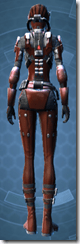 Imperial Battle Ace - Female Back