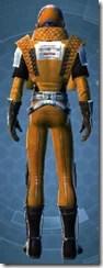 Republic Squadron Commander Pilot - Male Back