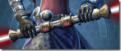 Primal Sycophant Double-Bladed Lightsaber