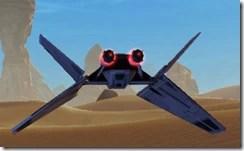 Model Supremacy Starfighter - Back