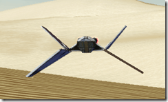 Model Supremacy Starfighter - Front