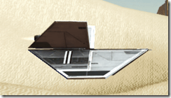 Model Supremacy Starfighter - Side