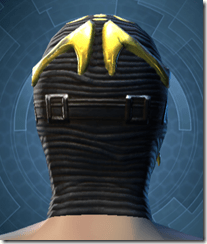 Glorious Charnel Mask - Male Back