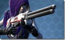 Interstellar Regulator's Blaster Rifle Besh Front