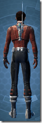 Adept Scout - Male Back