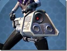 Interstellar Regulator's Assault Cannon Cresh