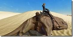 Jundland Dewback - Clipping