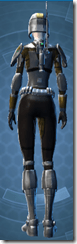 Scout Trooper - Female Back