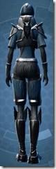 Brutalizer Trooper - Female Back