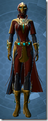 Dread Master Agent - Female Front