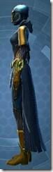 Dread Master Smuggler - Female Left