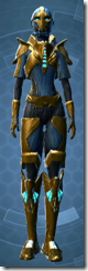 Dread Master Trooper - Female Front