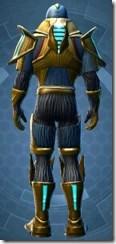Dread Master Trooper - Male Back