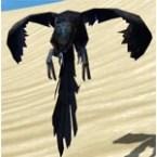 Ebon-wing Flutterplume