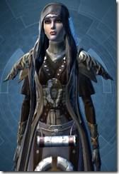 Tattered Ritualist - Female Clsoe Cowled