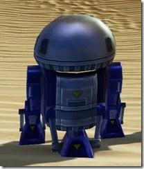 MT-4T Astromech Droid - Back