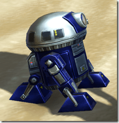 MT-4T Astromech Droid - Side