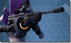 Kingpin's Blaster Rifle Front
