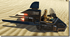 Droid Officer Transport - Side