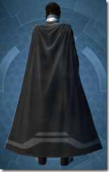 Malak's Shadow Armor - Male Back