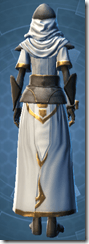 Temple Guardian - Female Back