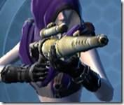 Antique Socorro Sniper Rifle Cresh Front