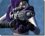 Stronghold Defender's Blaster Rifle Front