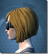 Stylish Defender's Goggles - Female Left