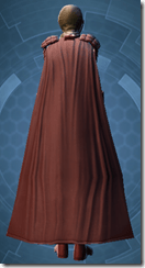 Mandalore the Indoimitable - Female Back