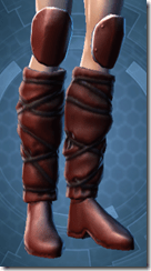 Mandalore the Indoimitable Female Boots