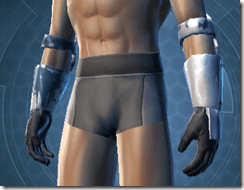 Resolute Protector Male Gauntlets