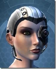 Series 614 Cybernetic Skull Female