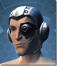 Series 616 Cybernetic Male Skull