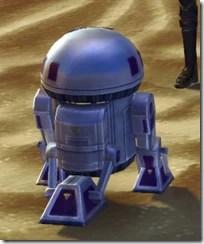 W4-K2 Astromech Droid - Back