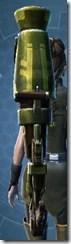 Antique Assault Cannon Dorn - Stowed