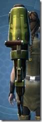 Antique Socorro Assault Cannon Cresh Back