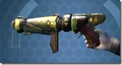 Antique Socorro Blaster Dorn - Left