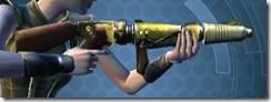 Antique Socorro Blaster Rifle Dorn - Right
