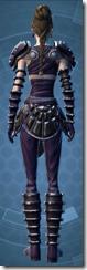 Balanced Combatant - Female Back