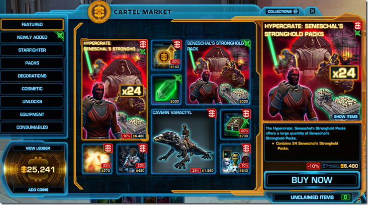 Cartel Market Window