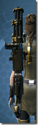 Czerka CZX-4 Assault Cannon - Stowed