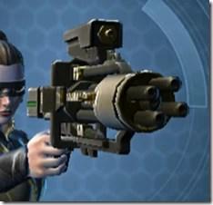 Czerka CZX-4 Blaster Pistol - Front