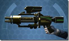 Czerka CZX-4 Blaster Pistol - Left