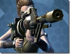 Czerka CZX-4 Blaster Rifle - Front