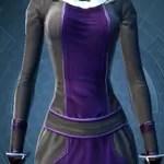 Deep Gray and Dark Purple Dye Module