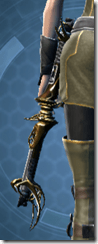 Descendant's Heirloom Dualsaber - Stowed