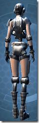 Series 617 Cybernetic - Female Back