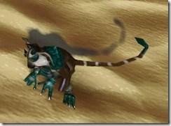 Zonian Monkey-lizard - Side