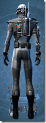 Alliance Agent - Male Back